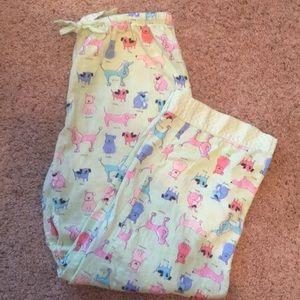 Adorable dog print flannel pajama bottoms ❤️❤️❤️